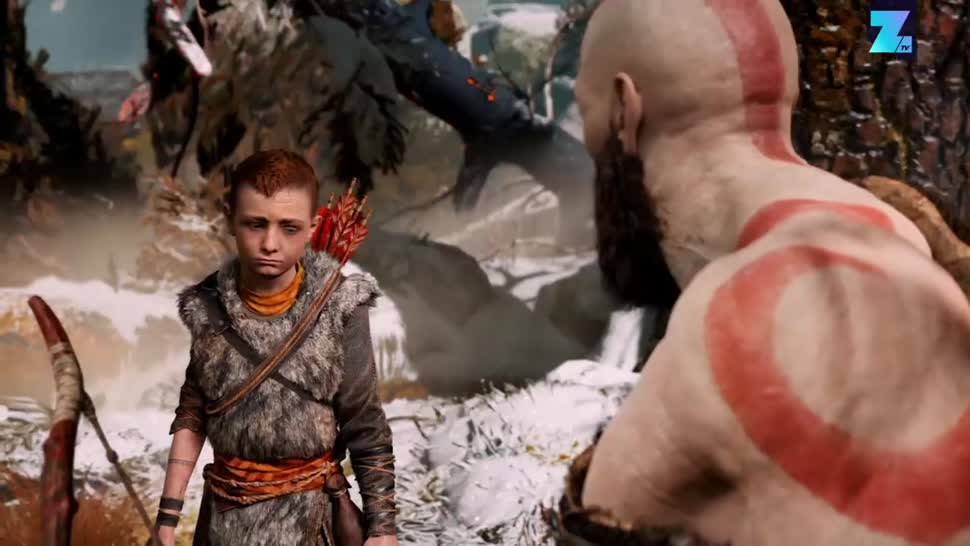 PlayStation 4, PS4, Sony PlayStation 4, Zoomin, Sony PS4, God Of War