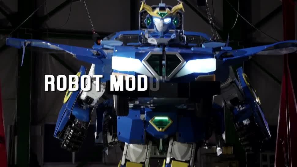 Roboter, Robotik, Transformers, J-deite RIDE