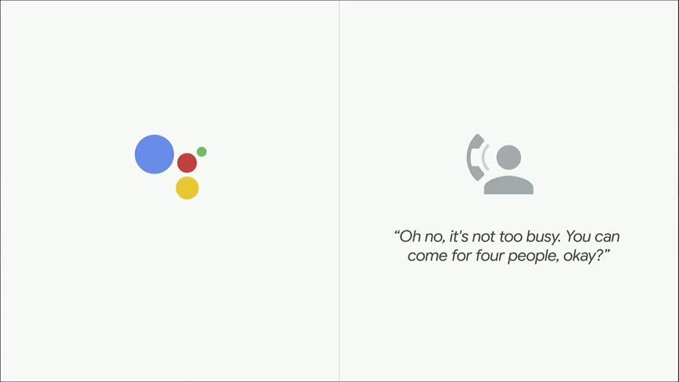 Google, Sprachassistent, Künstliche Intelligenz, Sprachsteuerung, Ki, Spracherkennung, Telefon, Google I/O, Demo, Spracheingabe, Assistent, Google Assistant, Google I/O 2018, Google Duplex