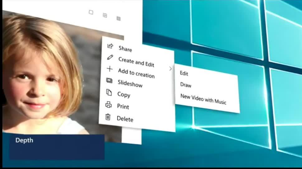 Microsoft, Betriebssystem, Windows 10, Build, Interface, Ui, Benutzeroberfläche, Oberfläche, Redstone 5, Fluent Design System, Fluent, Build 2018, Windows 10 Redstone 5, Kontextmenü, Windows 10 RS5