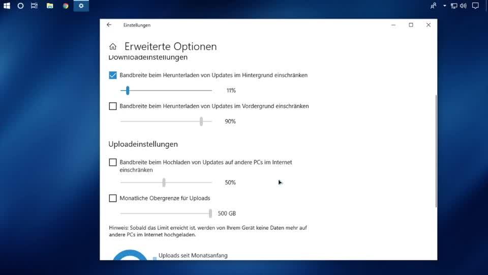 Microsoft, Betriebssystem, Windows 10, Internet, Updates, Bandbreite, SemperVideo, April 2018 Update