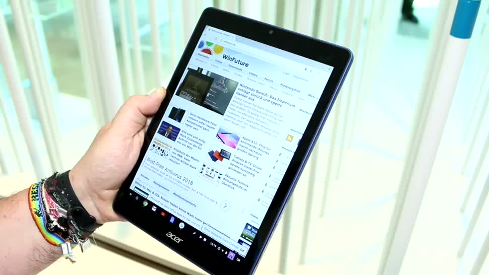 Tablet, Hands-On, Acer, Hands on, Review, Chrome OS, Chromebook, Rockchip, Acer Chromebook Tab 10