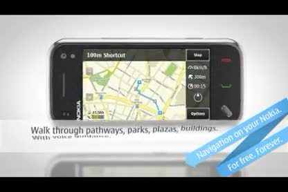 Nokia, Navigation, Ovi Maps