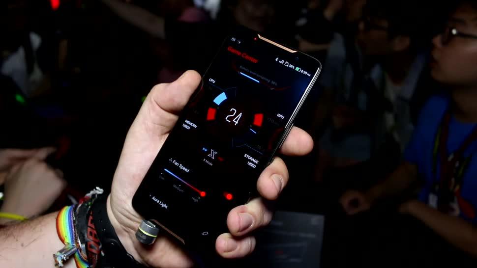 Smartphone, Gaming, Computex, Snapdragon, Roland Quandt, Computex 2018, ASUS ROG Phone