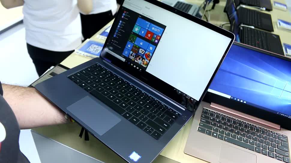 Notebook, Laptop, Huawei, Computex, Roland Quandt, Computex 2018, MateBook