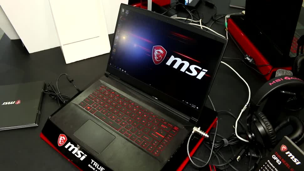 Gaming, Notebook, Laptop, Computex, Roland Quandt, Msi, Computex 2018, GF63