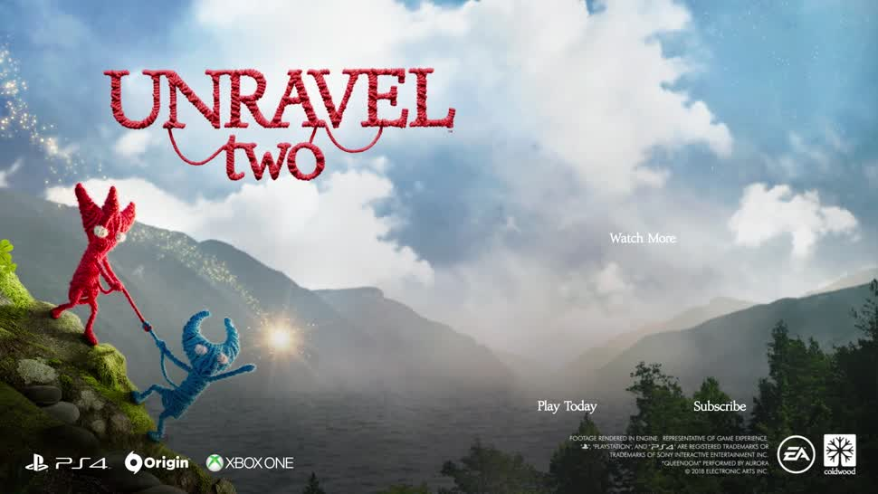 Trailer, Spiele, Spiel, Electronic Arts, Ea, E3, Teaser, Ankündigung, E3 2018, Computerspiel, Unravel, Unravel Two