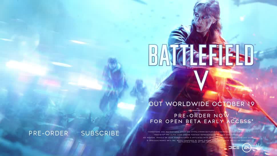 Trailer, Spiel, Electronic Arts, Ea, E3, Shooter, Battlefield, E3 2018, Battlefield 5