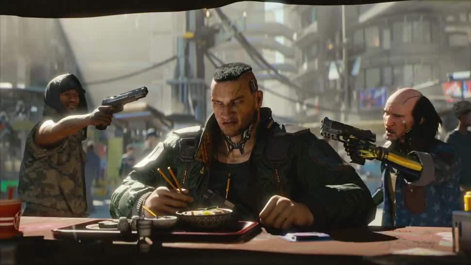 Trailer, Spiel, E3, Ankündigung, E3 2018, CD Projekt RED, Cyberpunk 2077