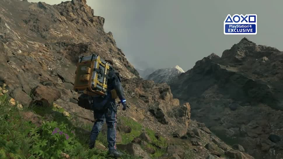 Trailer, Sony, PlayStation 4, E3, Playstation, PS4, Sony PlayStation 4, Sony PS4, E3 2018, Hideo Kojima, Death Stranding