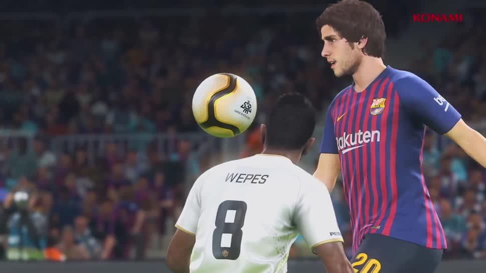 Trailer, E3, Fußball, Konami, PES, Pro Evolution Soccer, PES 2019, E3 2019, Pro Evolution Soccer 2019