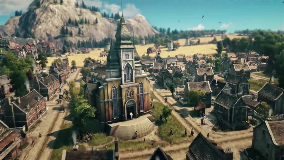 Trailer, E3, Ubisoft, Strategiespiel, E3 2018, Anno, Blue Byte, Anno 1800