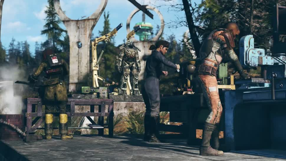 Trailer, Online-Spiele, Bethesda, Fallout, Fallout 76