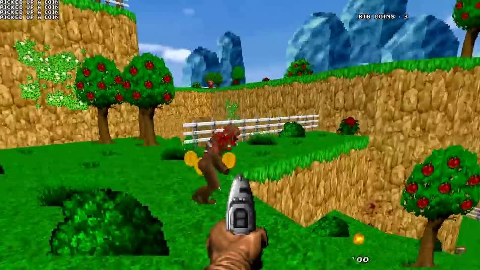 Shooter, Doom, Mod, Modifikation, Doom 2, Mashup, Doom: The Golden Souls 2