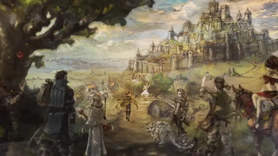 Trailer, Nintendo, Rollenspiel, Nintendo Switch, Square Enix, Octopath Traveler
