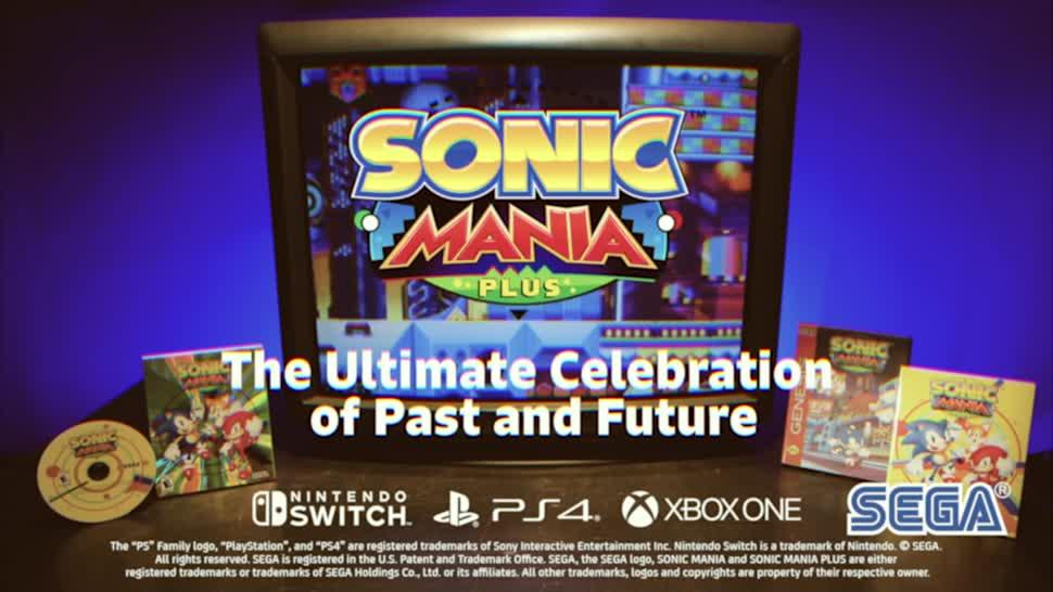 Trailer, SEGA, Sonic, Sonic Mania, Sonic Mania Plus