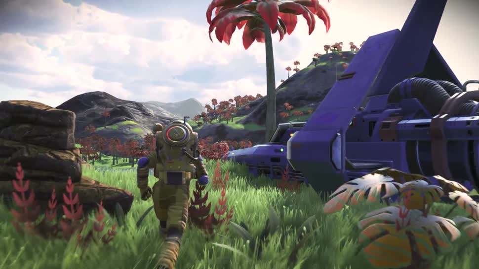 Trailer, Adventure, No Man's Sky, Hello Games