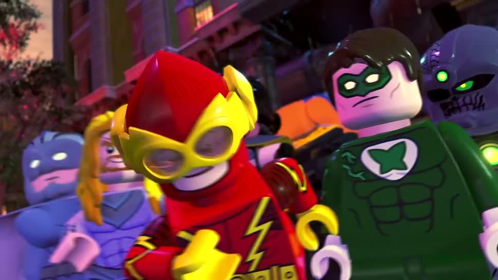 Trailer, Warner Bros., Lego, Comic-Con, San Diego ComicCon, SDCC, DC Comics, DC, SDCC 2018, LEGO DC Super-Villains, DC Super-Villains
