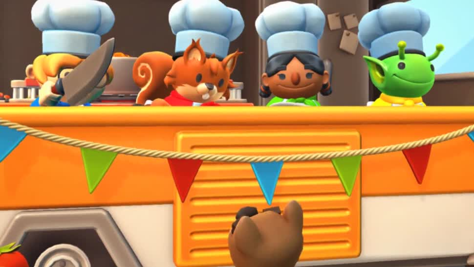 Trailer, Team 17, Overcooked, Overcooked 2, Ghost Town Games