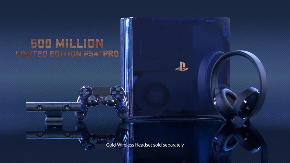 Sony, Playstation, Meilenstein, PS 4 Pro, 500 Million Limited Edition PS4 Pro
