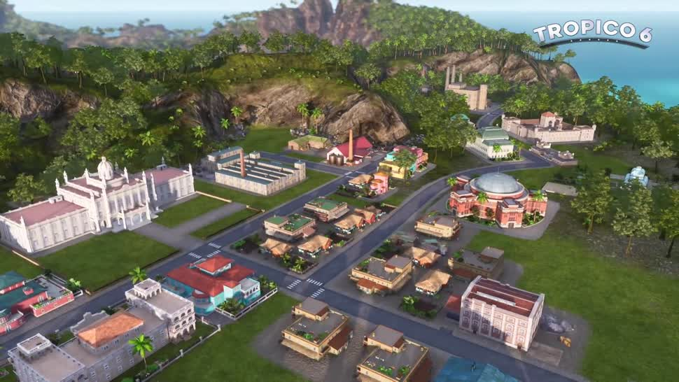 Trailer, Gamescom, Strategiespiel, Gamescom 2018, Kalypso Media, Tropico, Tropico 6