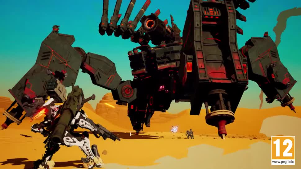 Trailer, Nintendo, Gamescom, actionspiel, Nintendo Switch, Gamescom 2018, Daemon X Machina, Marvelous Entertainment
