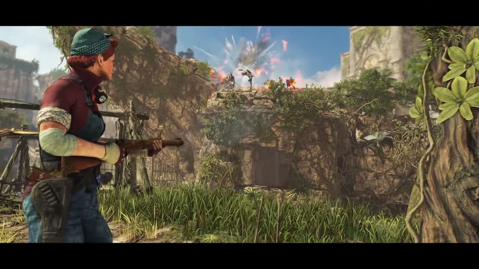 Trailer, Shooter, Online-Spiele, Online-Shooter, Rebellion, Strange Brigade