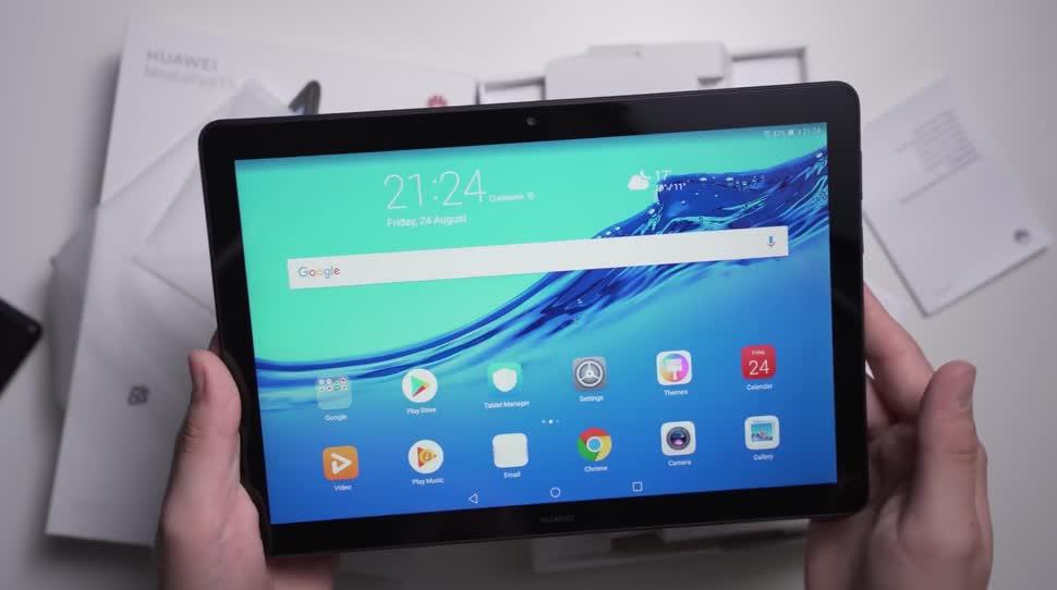 Android, Tablet, Huawei, Andrzej Tokarski, Tabletblog, Unboxing, MediaPad, Huawei MediaPad, Huawei MediaPad T5, MediaPad T5