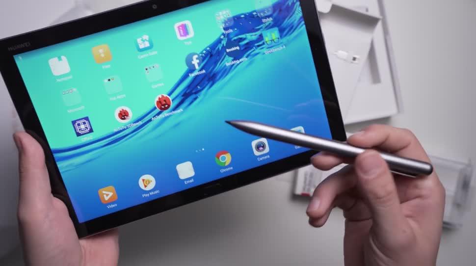 Android, Tablet, Huawei, Stylus, Andrzej Tokarski, Tabletblog, Unboxing, MediaPad, Huawei MediaPad, Eingabestift, Huawei MediaPad M5, Huawei MediaPad M5 Lite 10, MediaPad M5 Lite 10, Huawei MediaPad M5 Lite, MediaPad M5 Lite, M Pen Lite, M Pen