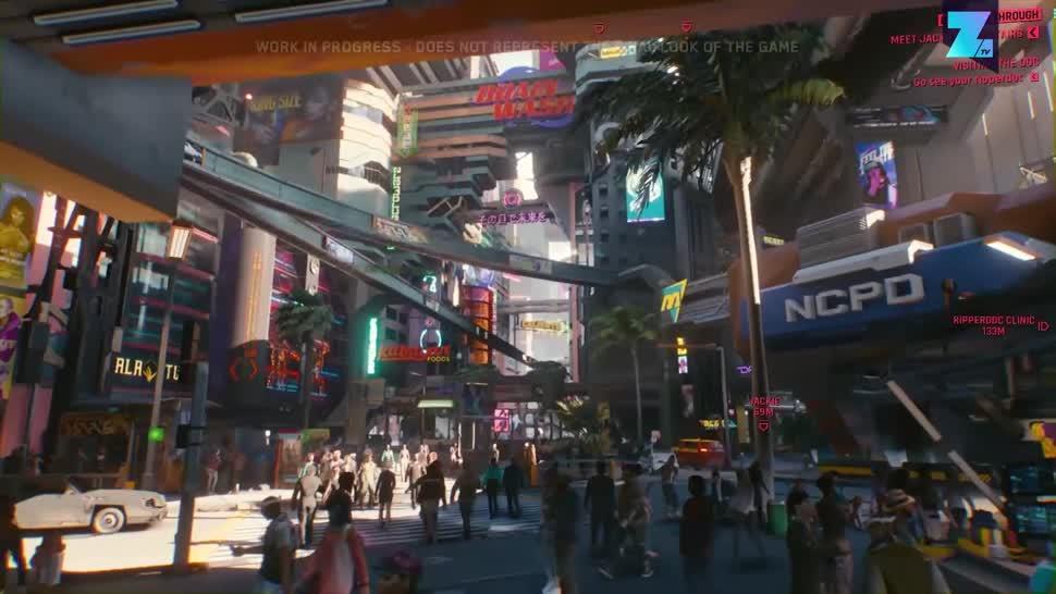 Trailer, Rollenspiel, Zoomin, CD Projekt RED, CD Projekt, Cyberpunk 2077, Cyberpunk