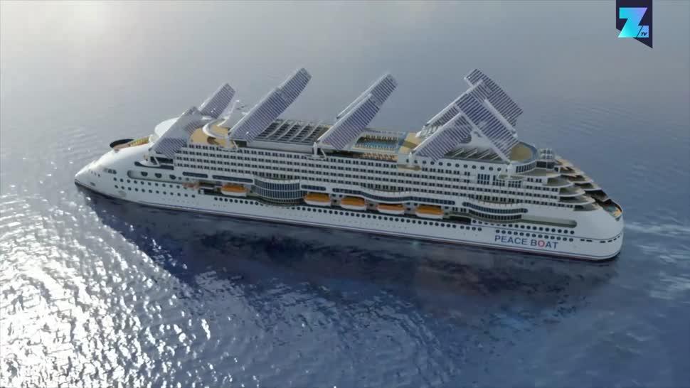 Zoomin, Schiff, Schifffahrt, Regenerative Energie, SMM, SMM 2018, Ecoship, Peace Boat
