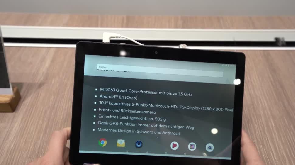 Android, Tablet, Hands-On, Ifa, Andrzej Tokarski, Tabletblog, Android 8.1, Trekstor, IFA 2018, TrekStor SurfTab, SurfTab, TrekStor Surftab B10, Surftab B10