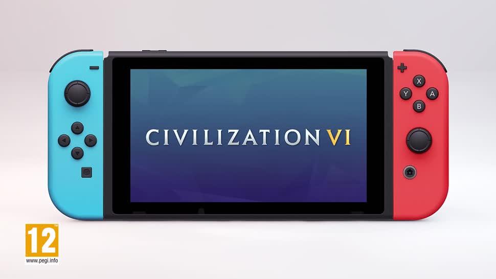 Trailer, Nintendo, Nintendo Switch, Ankündigung, Sid Meier, Civilization VI, Civilization 6