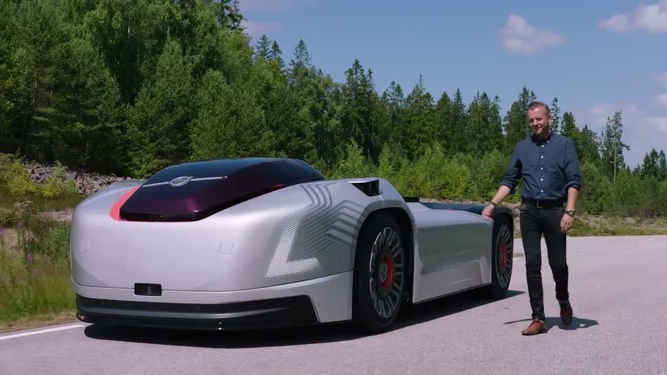 Roboter, Logistik, lkw, Volvo, autonomes Fahren, truck, Vera