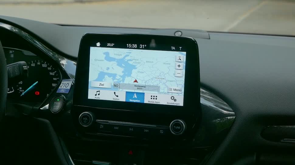 Test, Sprachsteuerung, Navigation, Daniil Matzkuhn, tblt, Ford, Ford Sync 3, Sync 3