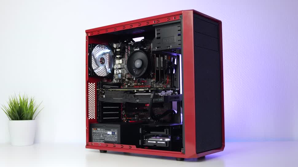 Test, Asus, Nvidia, Toshiba, Geforce, Ryzen, Zenchilli, Zenchillis Hardware Reviews, gaming-pc, Kingston, AMD Ryzen, be quiet, Fractal Design, GTX 1070 Ti, AMD Ryzen 5, G.Skill, AMD Ryzen 5 2600, B350-Plus, Focus G Red