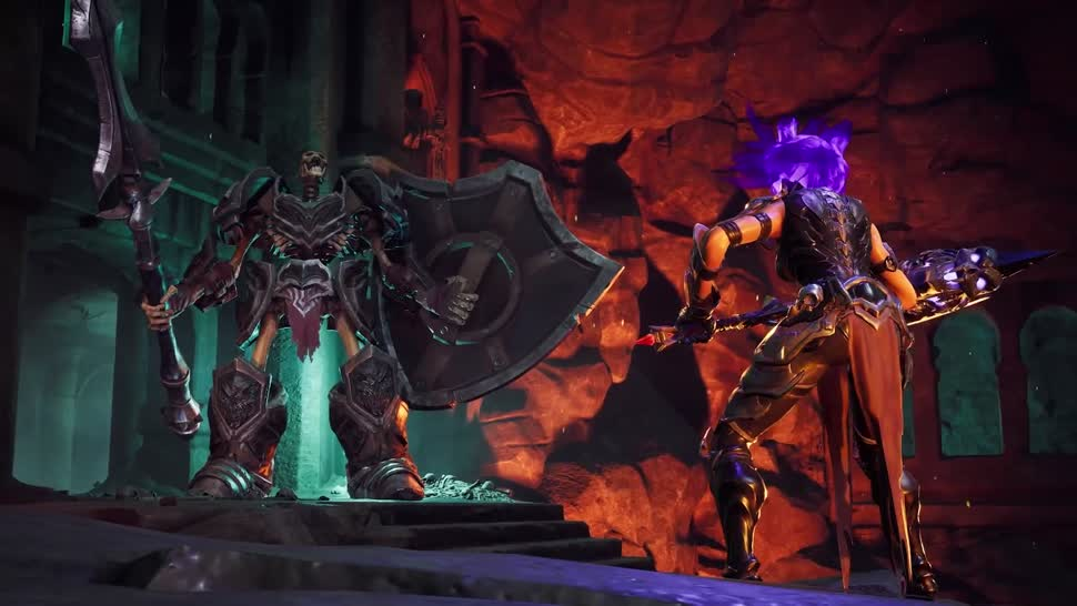 Trailer, actionspiel, Thq, THQ Nordic, Darksiders, Darksiders 3