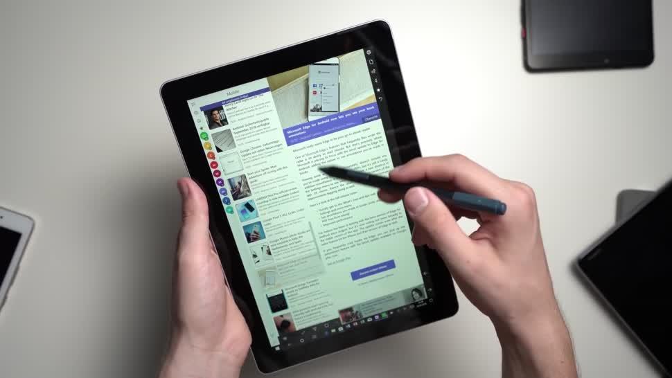 Microsoft, Windows 10, Tablet, Surface, Microsoft Surface, Test, Andrzej Tokarski, Tabletblog, Windows 10 S, Surface Go, Microsoft Surface Go