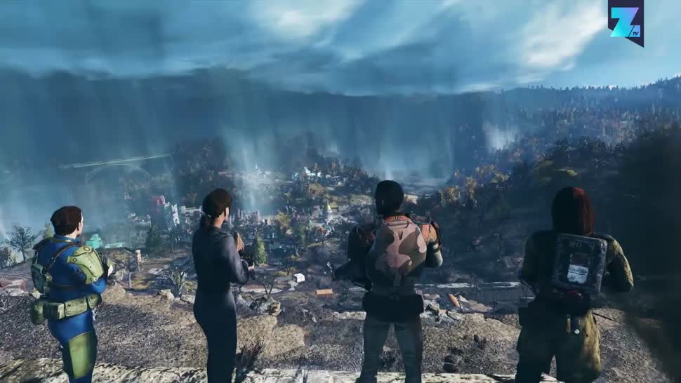 Trailer, Rollenspiel, Zoomin, Online-Spiele, Bethesda, Online-Rollenspiel, Fallout, Fallout 76