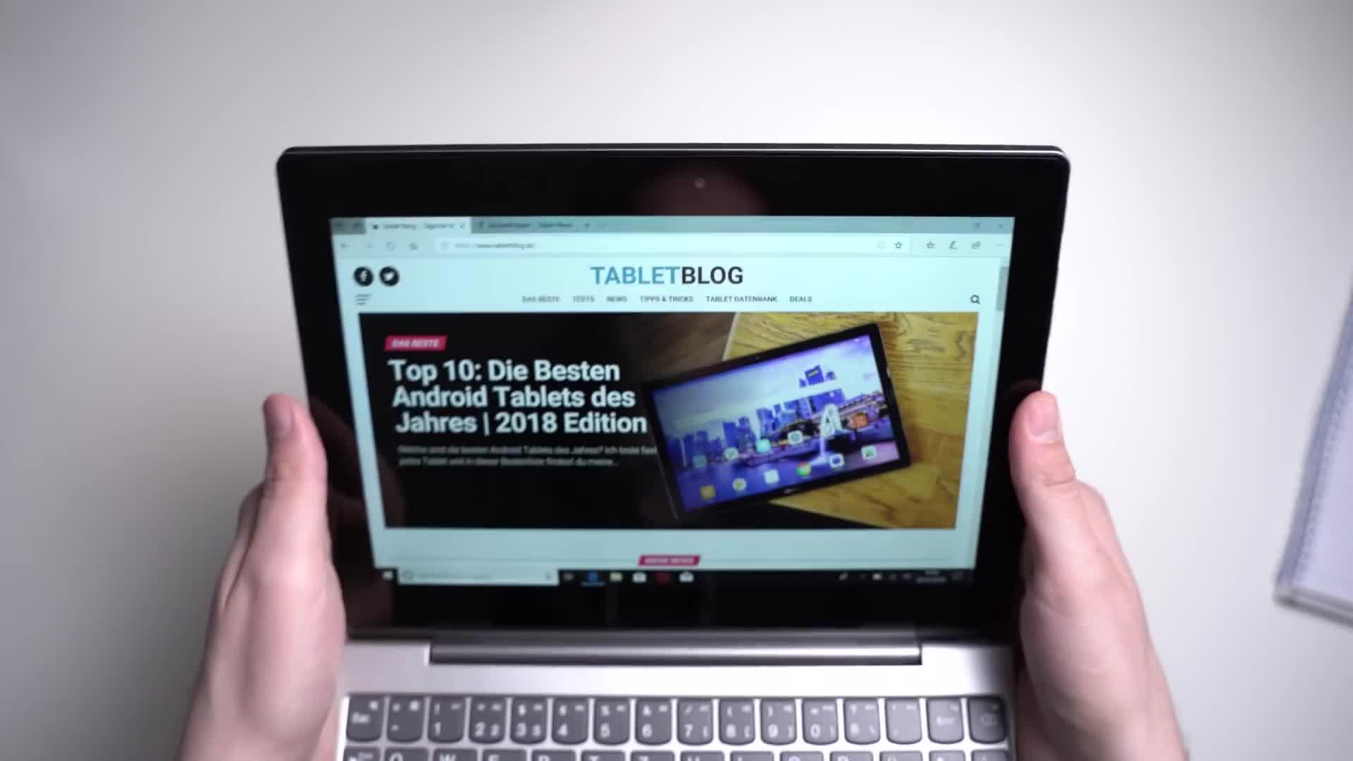 Windows 10, Tablet, Lenovo, Andrzej Tokarski, Tabletblog, Unboxing, Lenovo Ideapad, Lenovo IdeaPad D330, IdeaPad D330, D330