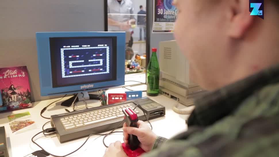 Zoomin, Berlin, Computerspiele, Retro-Spiele, Vintage Computing Festival, Vintage Computing Festival Berlin, VCFB, VCFB 2018, Vintage Computing