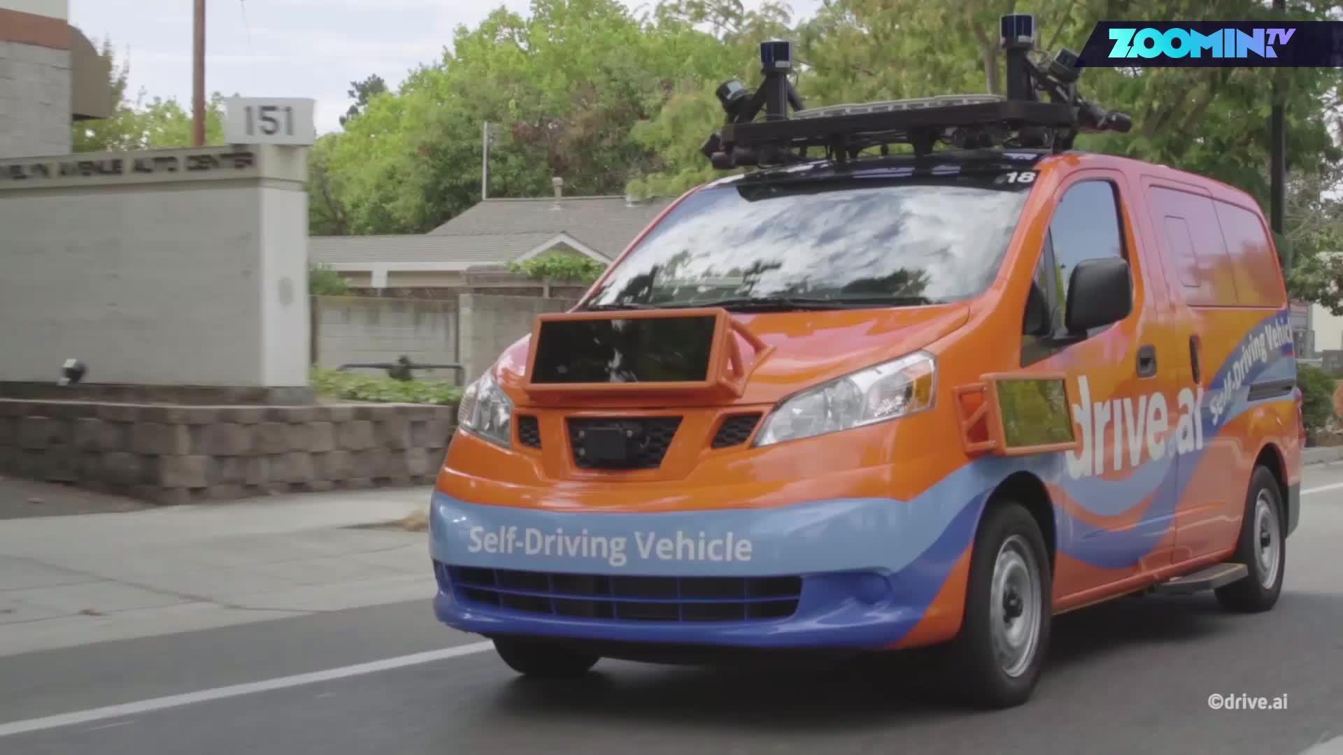 Zoomin, Autos, Selbstfahrendes Auto, Autonomes Auto, Selbstfahrend, autonomes Fahren, Texas, Autonomer Roboter, Autonome Fahrzeuge, Selbstfahrende Autos, Autonomous Driving, Drive.ai