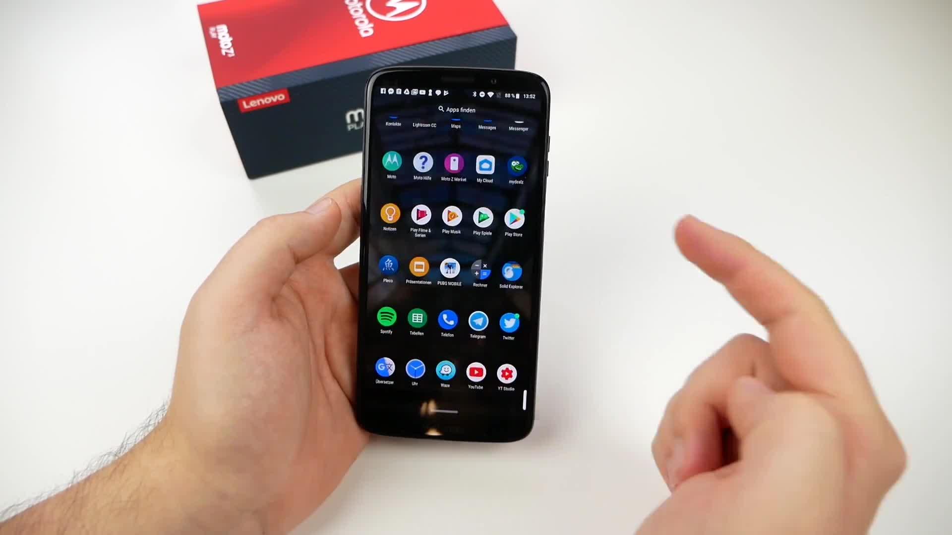 Smartphone, Android, Test, Motorola, Daniil Matzkuhn, tblt, Android 8.1, Android 8.1 Oreo, Moto Mods, Moto Z3 Play, Motorola Moto Z3 Play