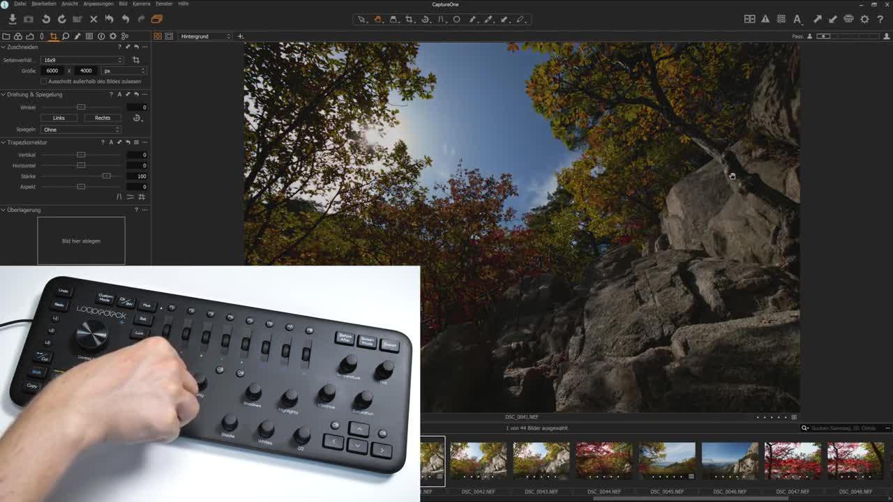 Tastatur, ValueTech, Fotobearbeitung, Loupedeck, Loupedeck Plus