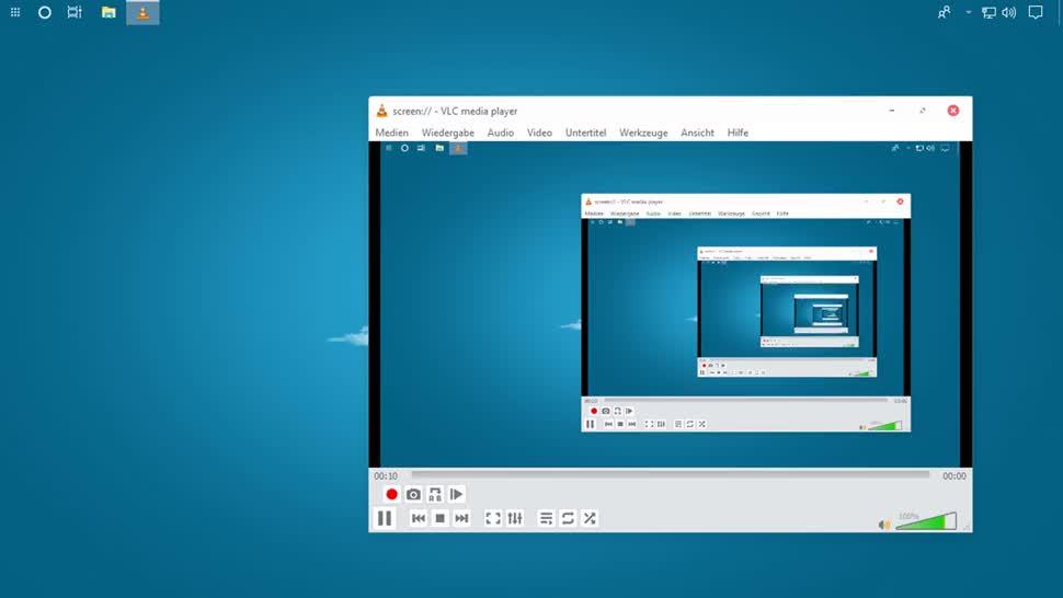 Desktop, SemperVideo, Vlc, VLC Media Player, Vlc Player, Aufzeichnung, Screencast