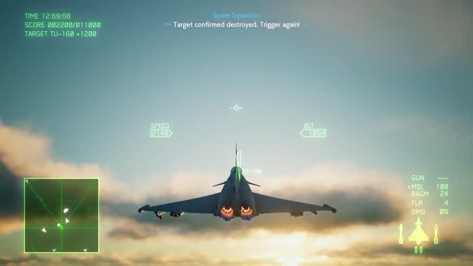 Trailer, Gameplay, Simulation, Bandai Namco, flugsimulation, Ace Combat 7, Ace Combat, Skies Unknown, Ace Combat 7: Skies Unknown