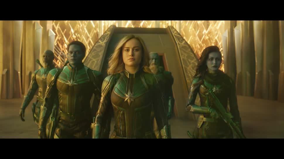 Trailer, Kino, Kinofilm, Marvel, Disney, Captain Marvel
