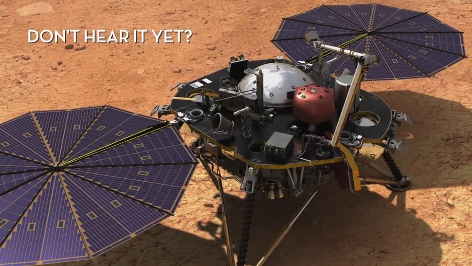 Forschung, Weltraum, Nasa, Mars, Sound, Mars-Rover, wind, InSight, Klang, Marswind