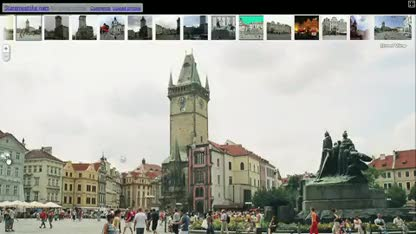 Google, Maps, Street View, Fotos, Flickr, Picasa, Photosynth
