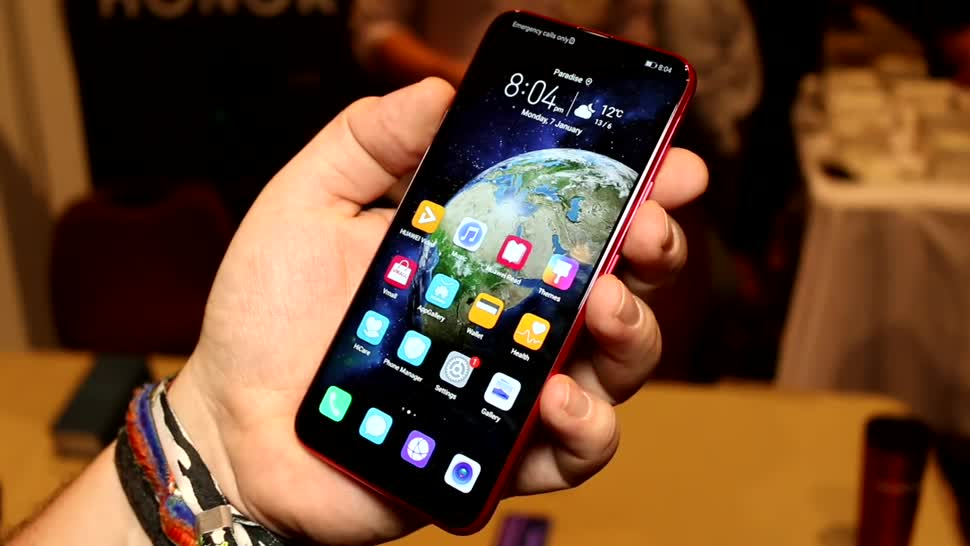 Huawei, Hands-On, Ces, Hands on, Honor, Roland Quandt, CES 2019, Honor magic 2